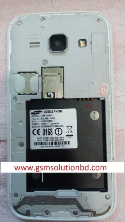 Samsung J100h MT6572 all version flash file Download