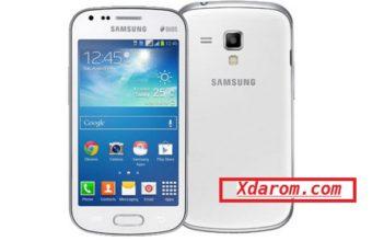 Samsung GT-S7582 MT6575 4.2.2 firmware flash file Download