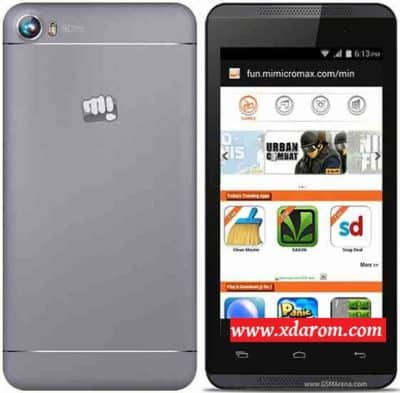 Micromax A107 MT6582 5.0 Lollipop Firmware Flash File Download