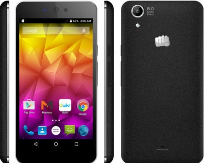 Micromax Q345 MT6582 5.0 Lollipop Stock Rom Firmware Flash File