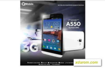 Qmobile A550 firmware flash file Download
