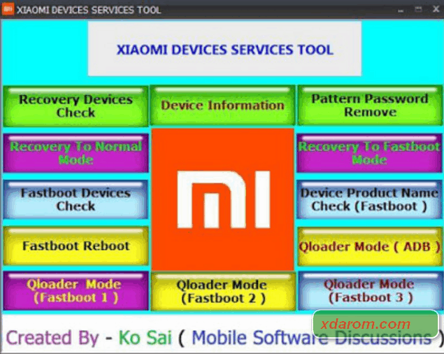 Xiaomi MI Device Service Tool (Updated) 2020