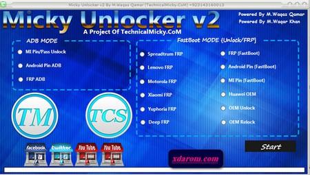 Micky Unlocker Tool V2