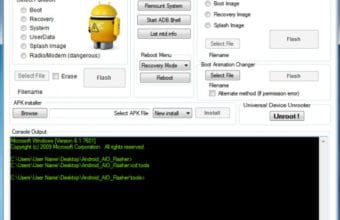 Universal Android Flasher Tools Latest 100% Tested Download