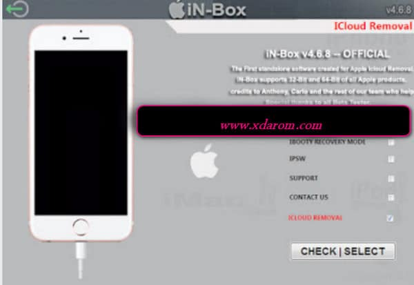 in-box V4.8.0 iPhone Icloud Remove Tool Official (Updated) 2020