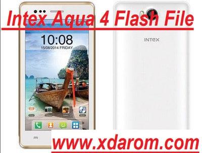 Intex Aqua Y4 Flash File