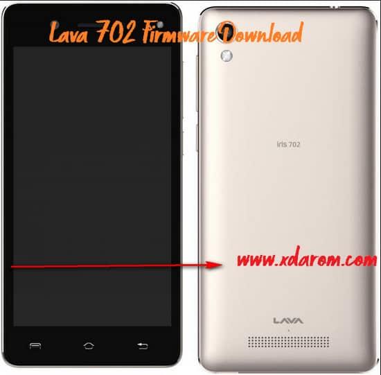 Lava 702 Firmware