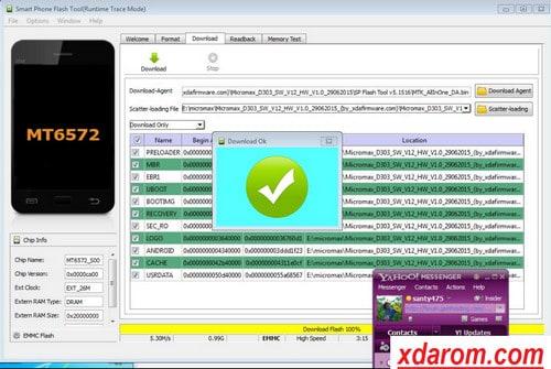 Micromax D303 Hard Reset