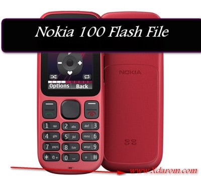 Nokia 100 Flash File (RH-130) V4.50 MCU,PPM,CNT Download