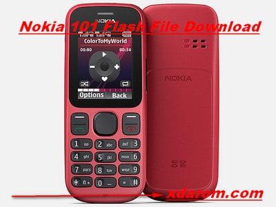 Nokia 101 Flash File (RM-769) V8.10 MCU,PPM,CNT Download