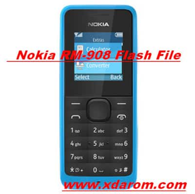 Nokia 105 RM-908 Flash File