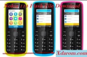 Nokia 114 Flash File