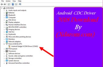 Android CDC Driver 2018 Update Free Download Link