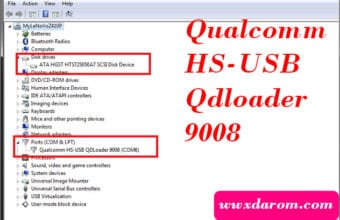 Qualcomm HS-USB Qdloader 9008 Download For Qualcomm Device