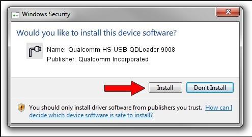 Qualcomm USB Driver