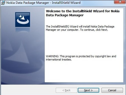 nokia data package manager download