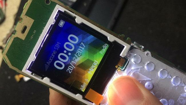 Nokia 105 Display Change