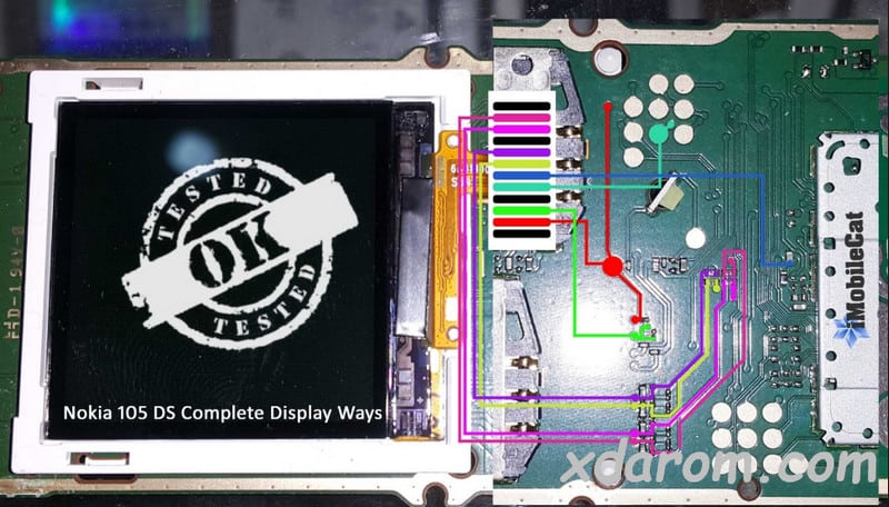 Nokia 105 LCD Ways 100% Tested Solution