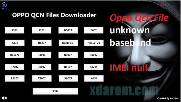 OPPO QCN File Downloader (All Model) Download | XDAROM COM