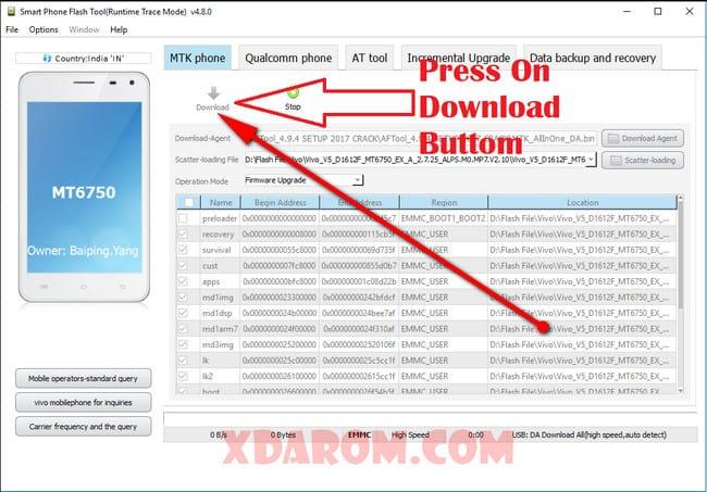 Vivo v5s firmware download