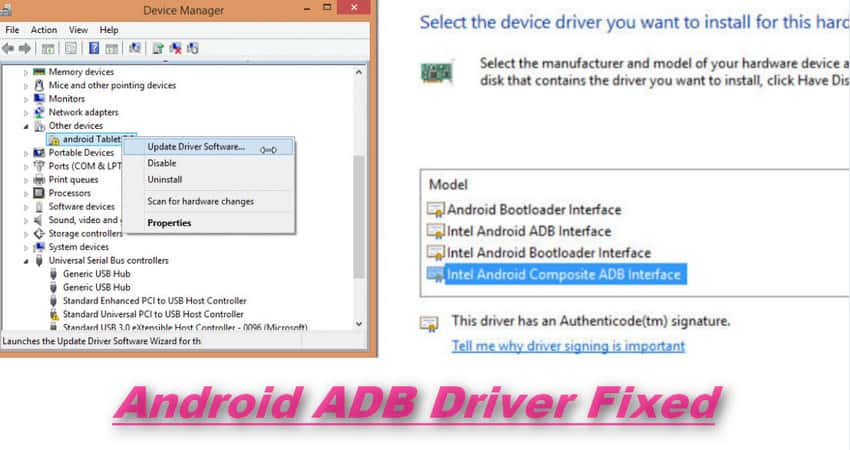 How To Install Android ADB Driver | Download Android ADB Driver