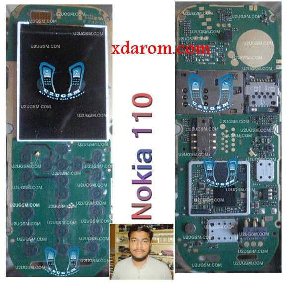 Nokia 110 Full PCB