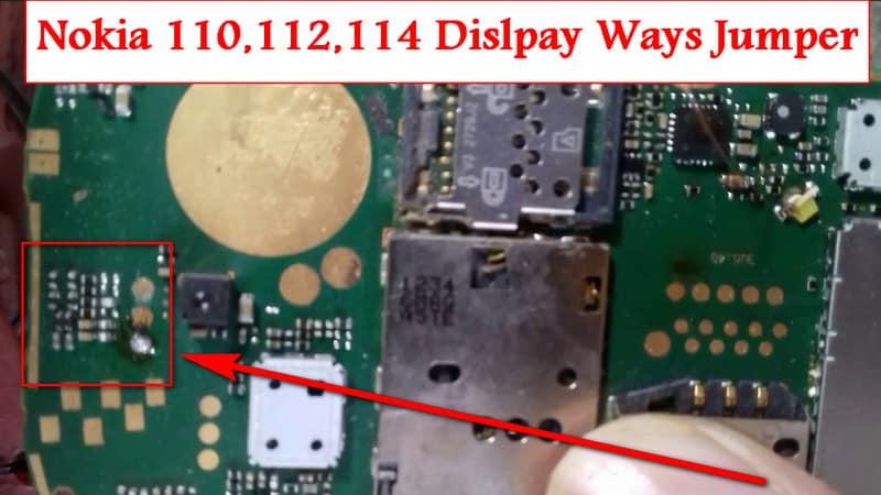Nokia 110,1112,114 Display Ways