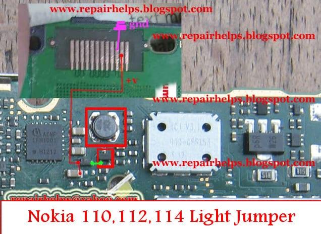 Nokia 110,112,114 Light Jumper Solution