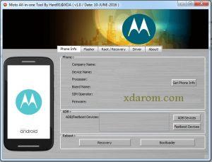 Motorola Flash Tool