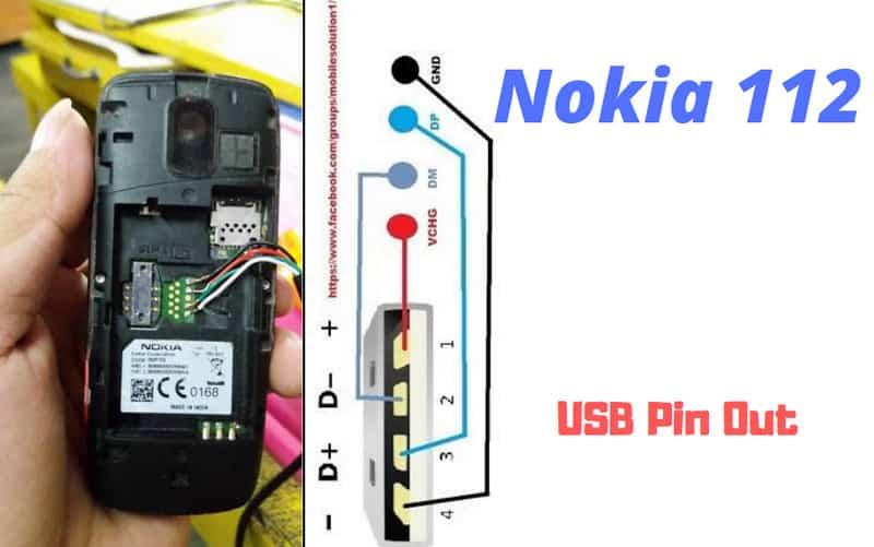 Nokia 112 USB Pinout