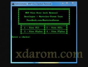 Vivo User Lock Removal Tool