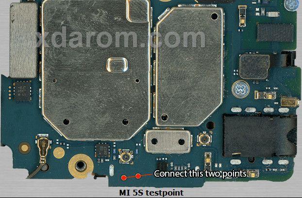 Xiaomi MI 5 Test Point