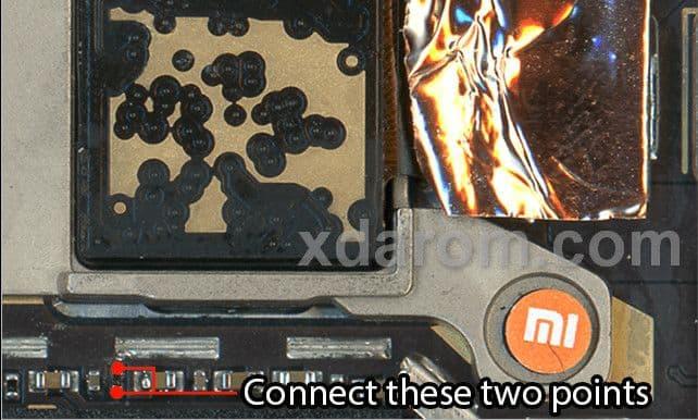 Xiaomi MI 6X Test Point