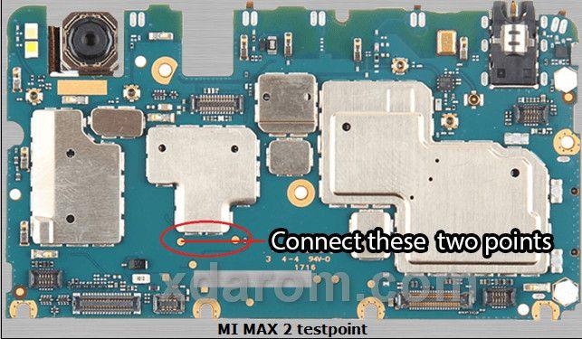 Xiaomi MI Max 2 Test Point