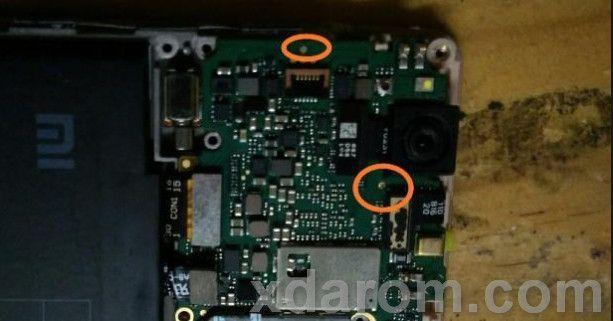 Xiaomi Redmi 3 Test Point