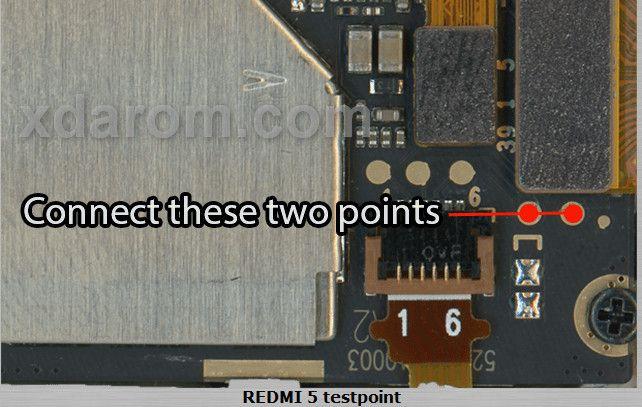 Xiaomi Redmi 5 Test Point