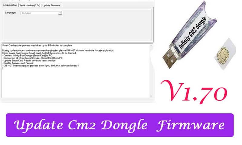 CM2 Dongle manager