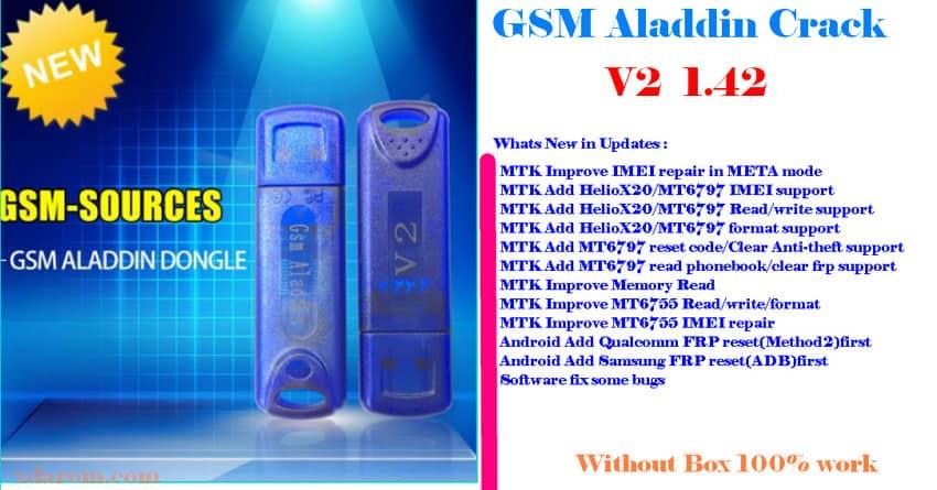 GSM Aladdin Crack