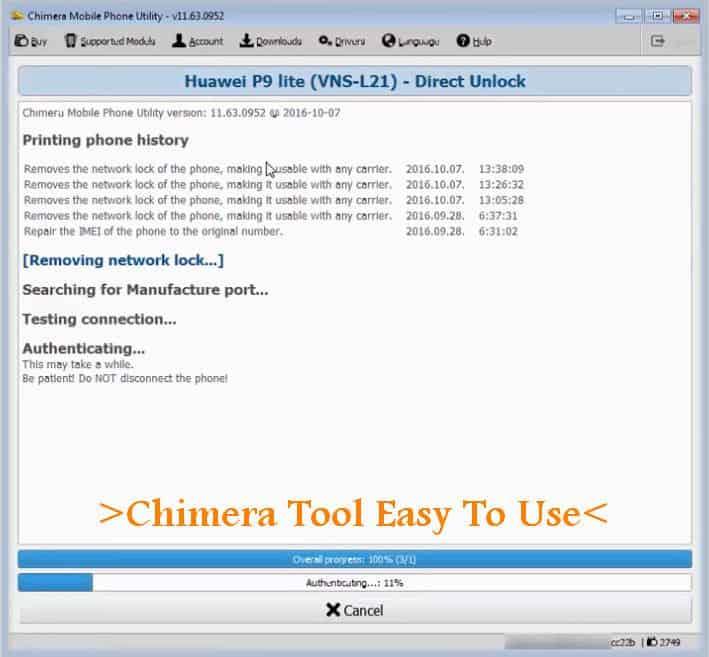 Latest Version Chimera Tool