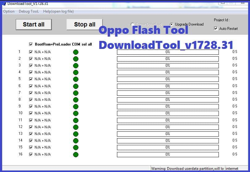 MSM Download Tool Latest Version| OPPO Flash Tool Updated 2021