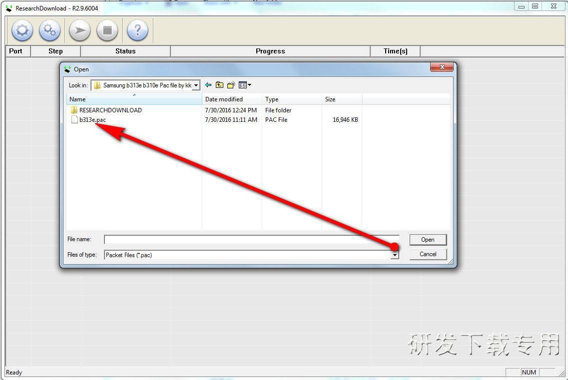 Samsung B31E Pac Flash File