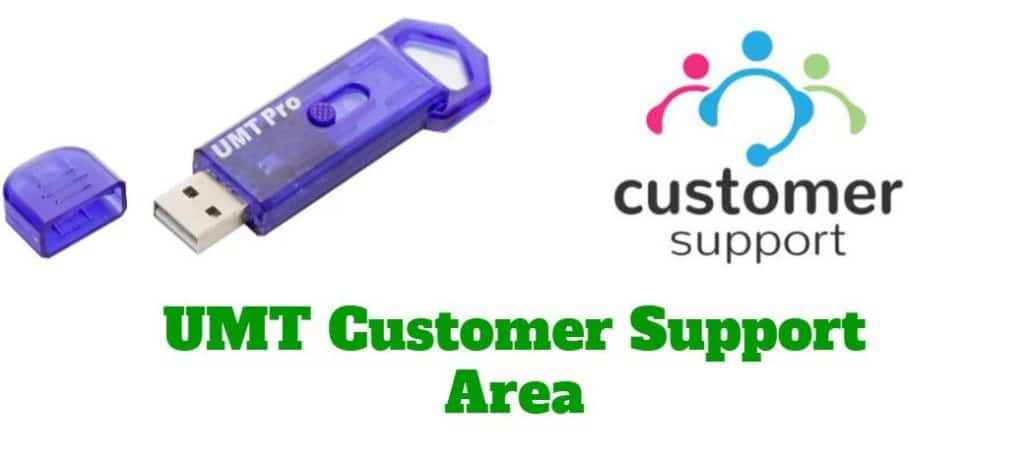 UMT Dongle Customer Support Access
