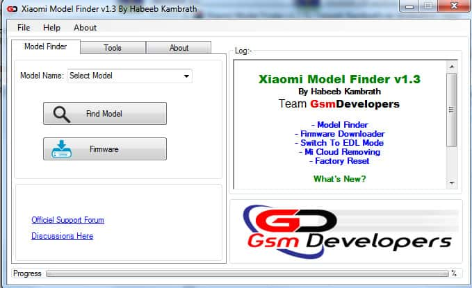 Xiaomi Model Finder V1.2 by Habeeb Kambrath Download
