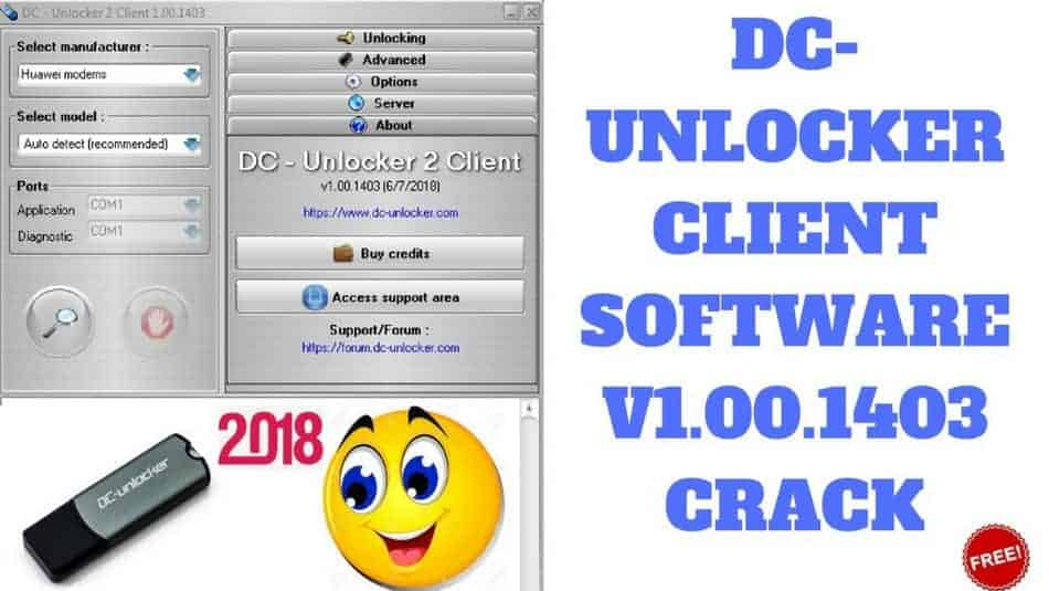 DC Unlocker Crack [Unlock Huawei Modems, Routers And Phones]