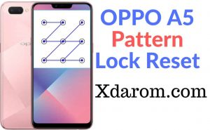OPPO A5 Pattern Lock Reset Done