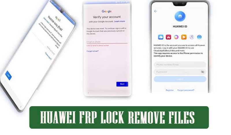 Huawei FRP Lock Remove Files