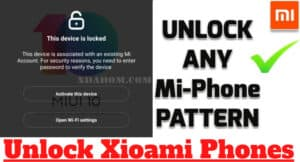 How Do You Unlock A Locked Xiaomi Phone