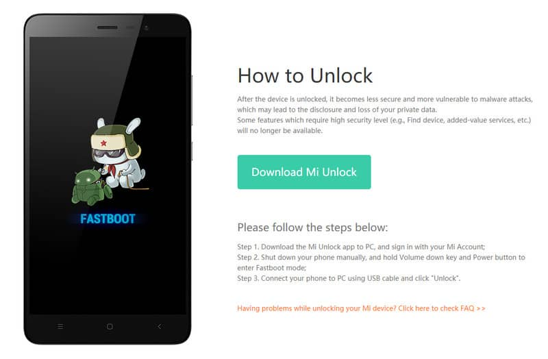 How do I Get Permission to Unlock Mi Device