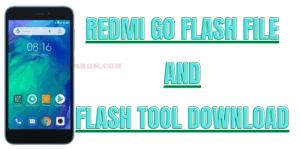 Redmi Go Flash File