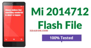 Mi 2014712 Flash File